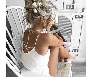 beautiful, hair, and hairdo image