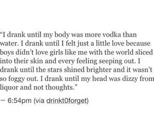 broken heart, dizzy, and drunk image