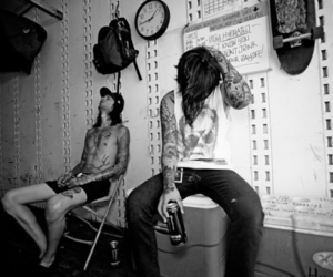 b&w, mike fuentes, and music image