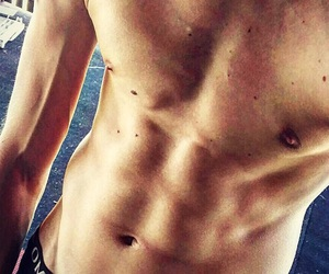 abs, sexy, and sun image