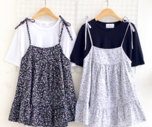 dress, pinafore, and style image