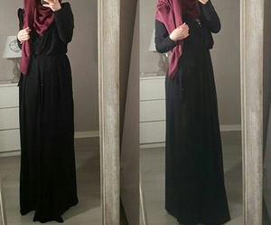 dz, hijab, and hijabista image