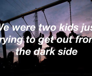 dark, without you, and grunge image