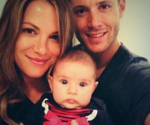 Jensen Ackles, family, and supernatural image