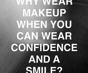 black, confidence, and makeup image