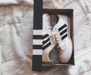 adidas, blackandwhite, and tumblr image