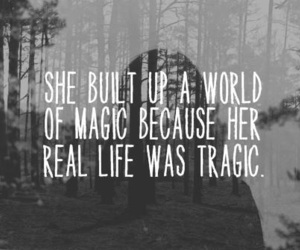 magic, quotes, and tragic image