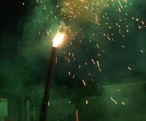 fireworks, grunge, and night image