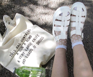 grunge, shoes, and pale image