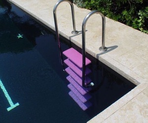 aesthetic, pastel, and pool image