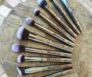 beauty, Brushes, and cosmetics image