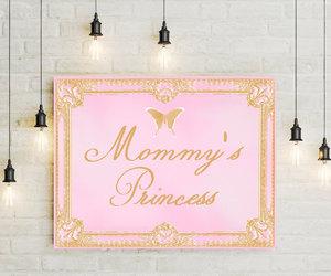 etsy, pink, and princess image
