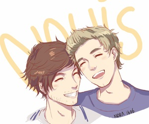 one direction, louis tomlinson, and nouis️ image