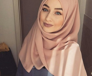 hijab, simple, and cute image