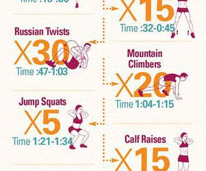simple, workout, and excersise image