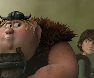 hiccup, httyd, and fishlegs image