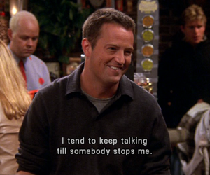 friends, chandler bing, and funny image
