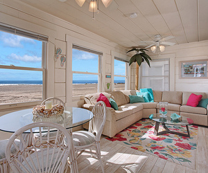 beach, house, and room image