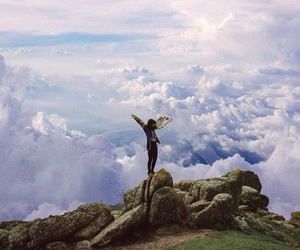 nature, sky, and freedom image
