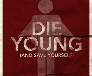 brand new, die, and young image