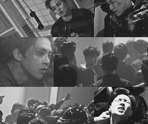 Chen, exo art, and minseok image