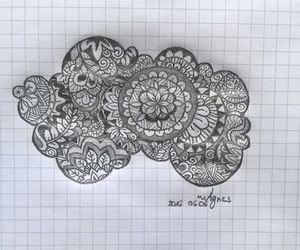 cloud, draws, and mandala image