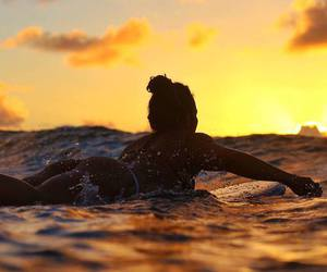 summer and surfing image