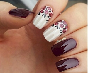 beauty, chic, and nailart image