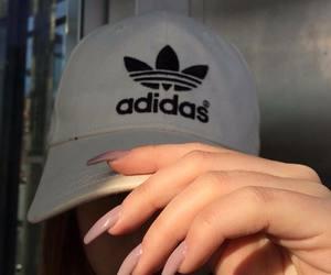 adidas, nails, and cap image