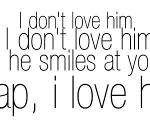 crap, him, and love image