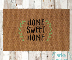 doormat, etsy, and home decor image