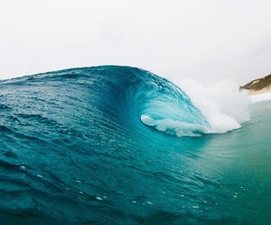 sea, summer, and waves image
