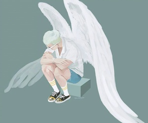 angel, fanart, and kpop image