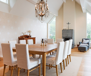 dining room, dream home, and picture image