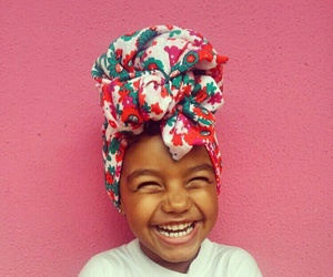 smile, girl, and African image