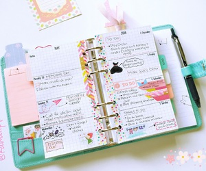 kawaii, planner girl, and cute image