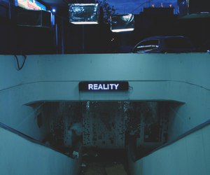 reality, grunge, and dark image