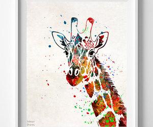 animal, watercolour, and watercolor art image