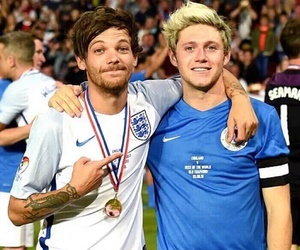 football, soccer aid, and niall horan image