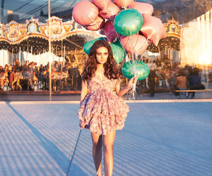 balloons, carousel, and fair image