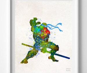 etsy, baby gift, and ninja turtles image