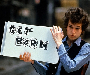 bob dylan, get born, and dylan image