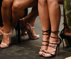 fashion, fashion week, and heels image