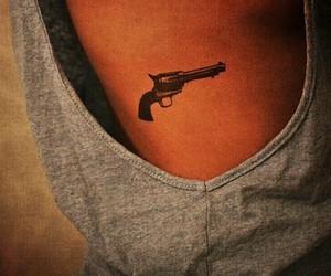 tattoo and gun image