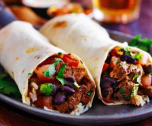 burrito, Chicken, and delicious image