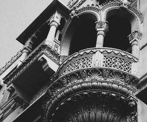 photography, architecture, and black and white image