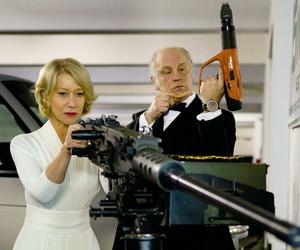 Helen Mirren, john malkovich, and r.e.d. image