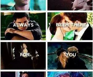 twilight, harry potter, and the hunger games image