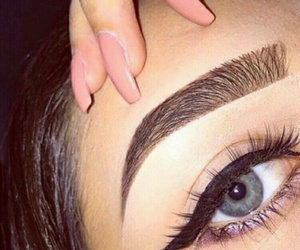 eye, brows, and life goals image