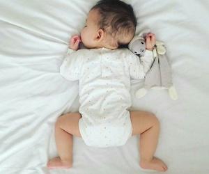 baby, beautiful, and sleepy image